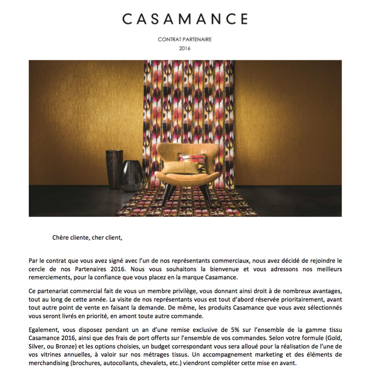 Lettre contrat partenaires clients rédigée par Raphaëlle Rédactrice, concepteur rédacteur freelance à Paris