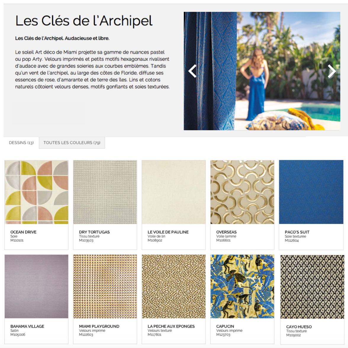 Collections Misia 2015 et noms produits conçus par Raphaëlle Rédactrice, concepteur rédacteur web à Paris