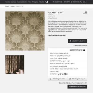 Fiches produits Misia 2015 conçues par Raphaëlle Rédactrice, concepteur rédacteur web à Paris
