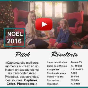 Spot TV Photobox - Noël 2016